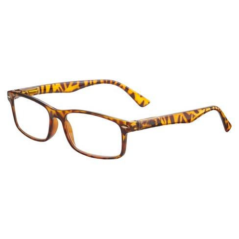 ICU Eyewear Brentwood Reading Glasses – Shiny Clear Tortoise - image 1 of 3