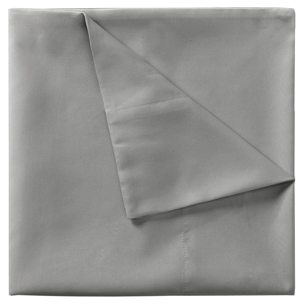 Smart Cool Microfiber Sheet Set (Twin) Gray