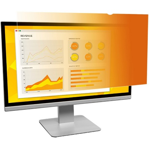 """3M Privacy Filter f/21.5"""" Wide-screen Monitors Gold GF215W9B - image 1 of 2"""