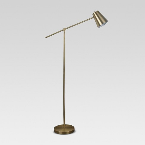 Cantilever Floor Lamp Brass - Project 62™ - image 1 of 6