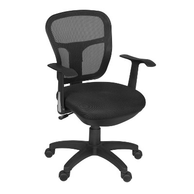 Griffin Swivel Chair Black - Niche