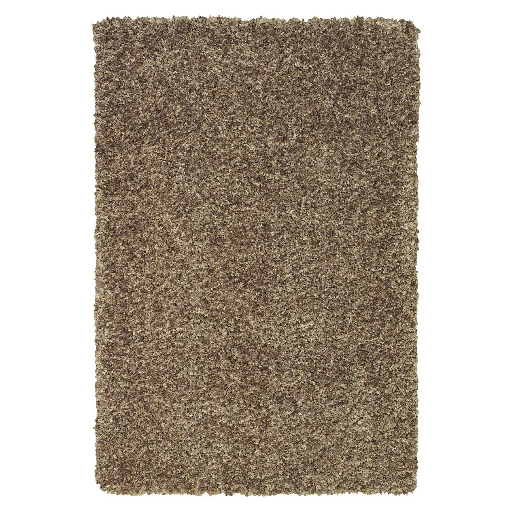 5'x7'6 Dream Supersoft Shag Area Rug Taupe (Brown) - Addison Rugs