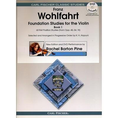 Carl Fischer Foundation Studies for Violin Book 1 (Book + DVD)