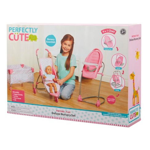 Perfectly Cute Baby Doll Deluxe Nursery Set