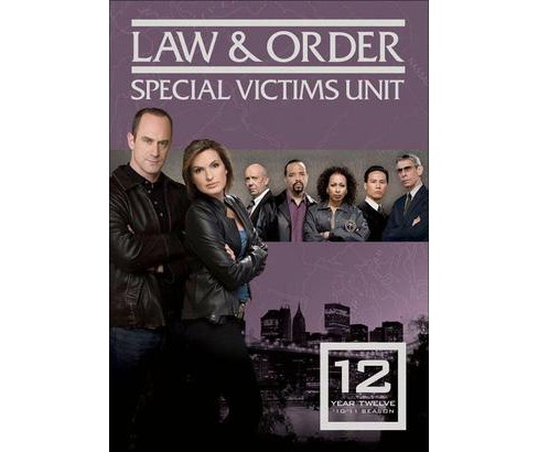Law & Order: Special Victims Unit - Year Twelve [5 Discs] - image 1 of 1