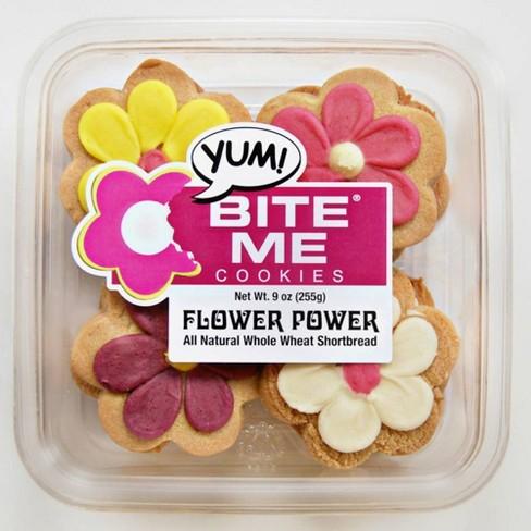 Bite Me Cookies Flower Power - 9oz - image 1 of 1
