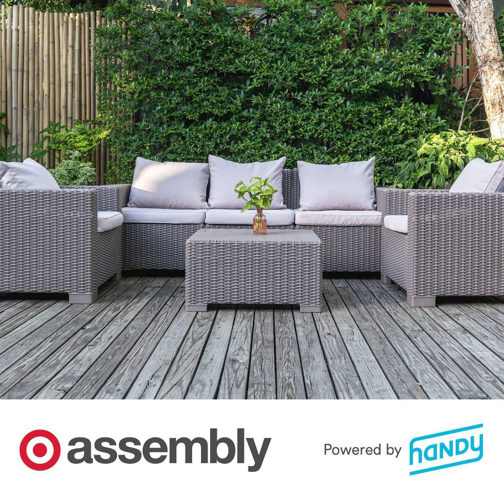 Patio Set Assembly Powered By Handy