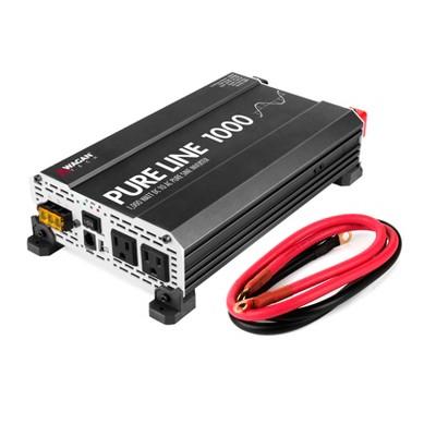 Wagan Pure Line 1000W ETL Certified Power Inverter Black