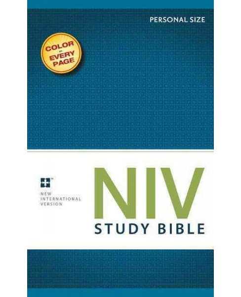 NIV Study Bible : New International Version, Personal Size, with Full Color Photos, Charts & Maps - image 1 of 1