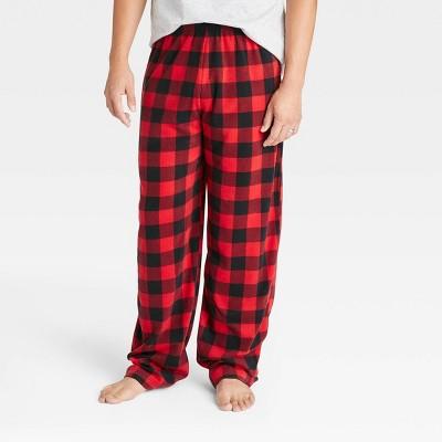 Men's Holiday Plaid Matching Family Pajama Pants - Wondershop™ Red