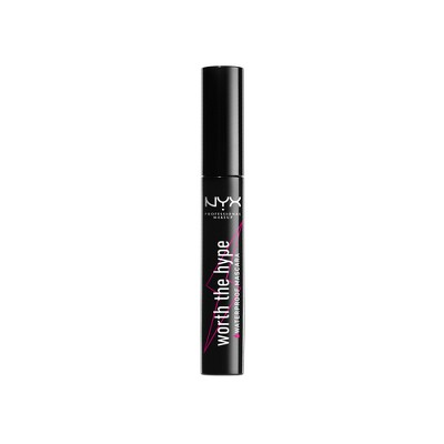 Mascara & Lashes: NYX Professional Makeup Worth The Hype Waterproof Mascara