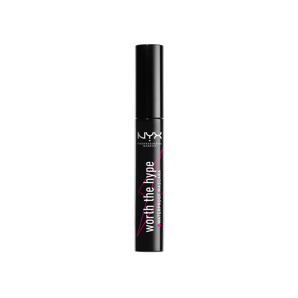 Nyx Professional Makeup Worth The Hype Waterproof Mascara Black