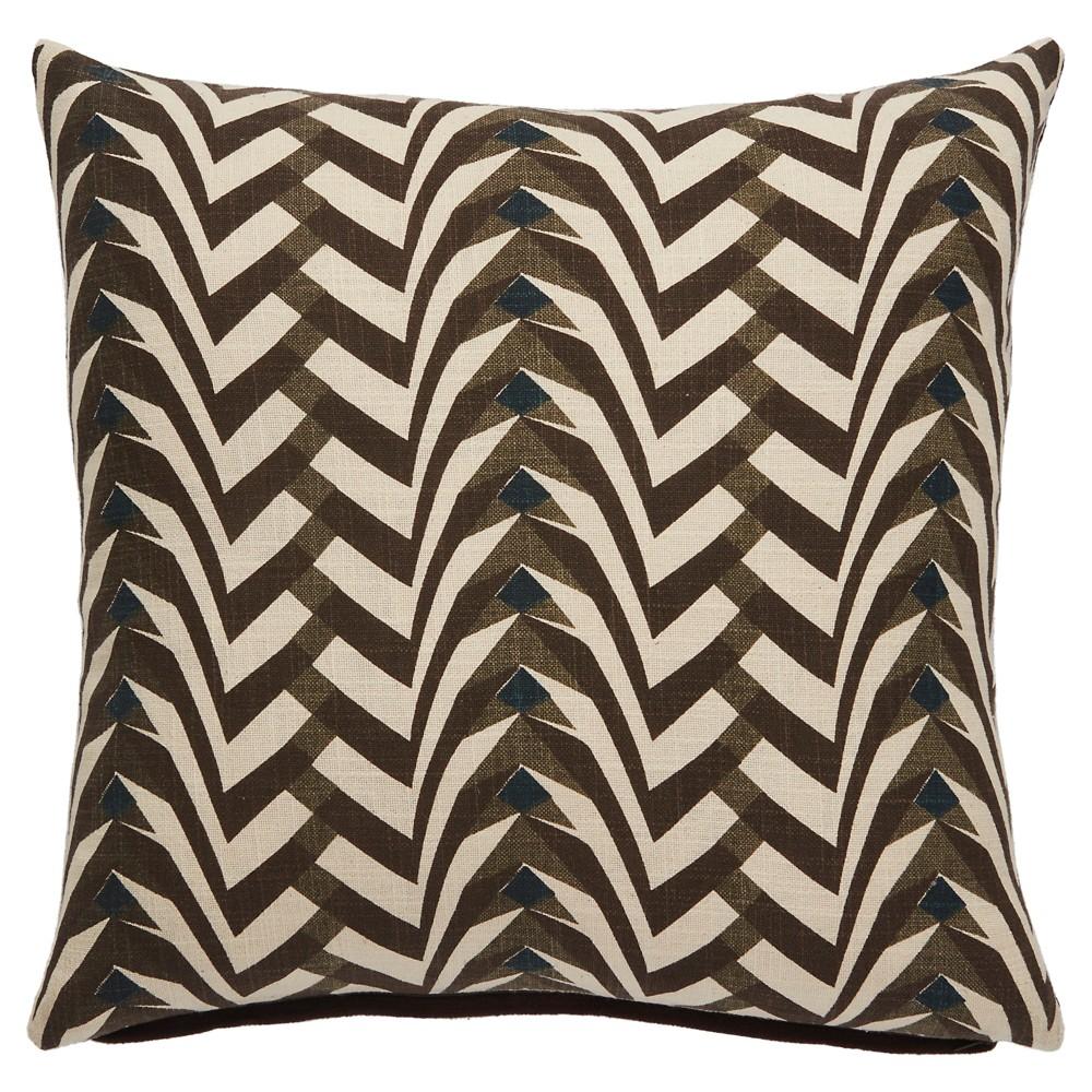 Gray Throw Pillow (50