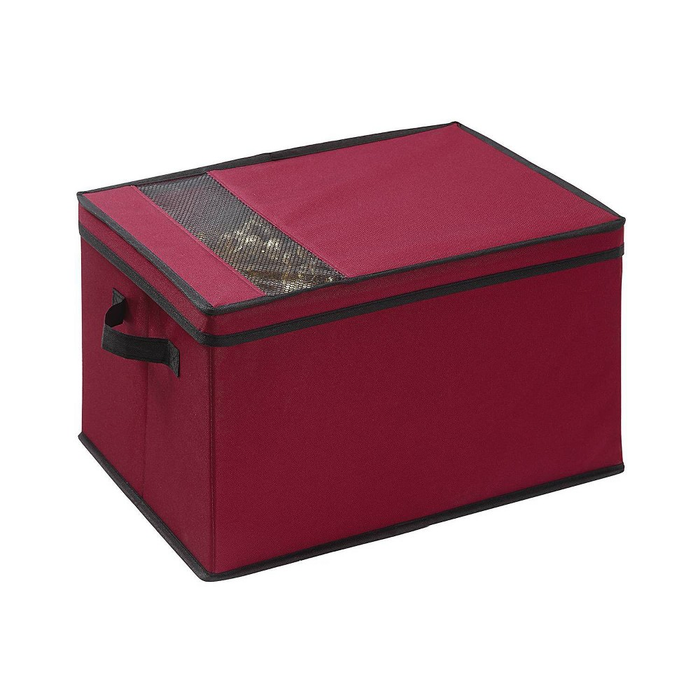 Image of 2pk Holiday Storage Box Red - Neu Home