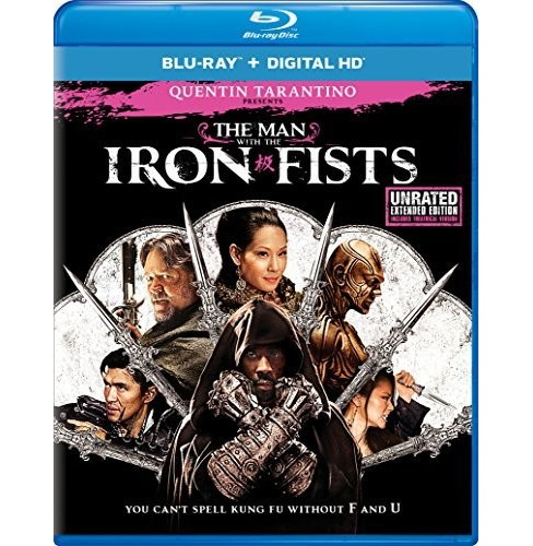 Man With The Iron Fists (Blu-ray) - image 1 of 1