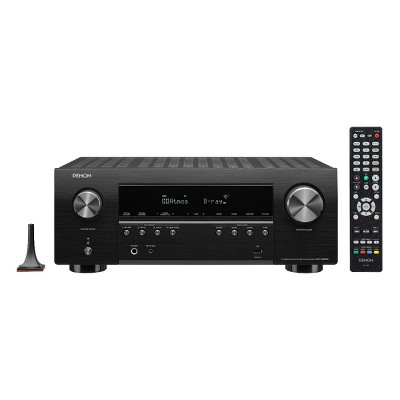 Denon AVR-S960H 7.2-Channel 8K AV Receiver with 3D Audio and Amazon Alexa Voice Control