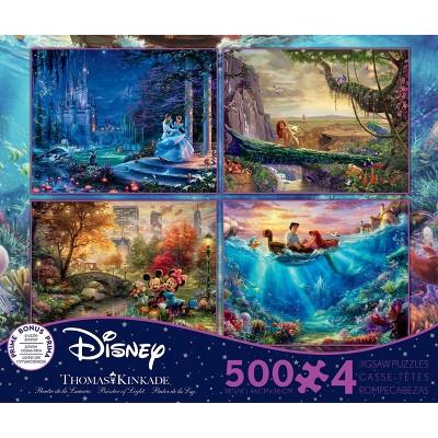 Ceaco Disney Thomas Kinkade: 4 In 1 Puzzle Set 2000pc