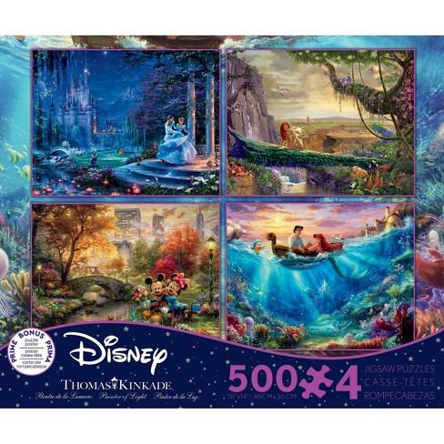 Ceaco Disney Thomas Kinkade: 4 In 1 Puzzle Set 2000pc - image 1 of 1
