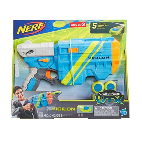 nerf vortex vtx vigilon blaster target
