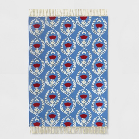 Carnations Outdoor Rug - Opalhouse™ - image 1 of 3