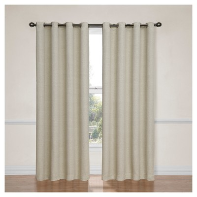 Bobbi Thermaweave Blackout Curtain Panel - Eclipse