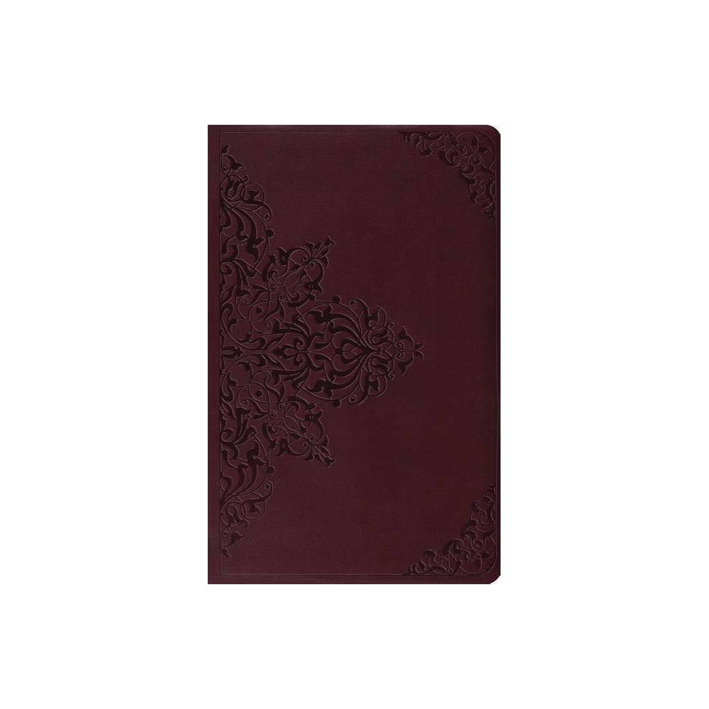 Premium Gift Bible Esv Filigree Design Leather Bound