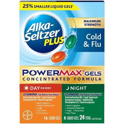 Digestion & Nausea: Alka-Seltzer Plus PowerMax