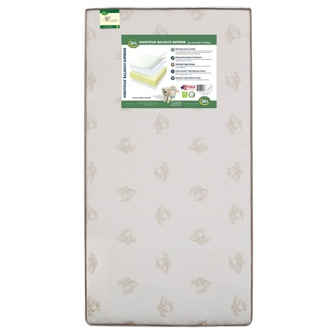 Serta Nightstar Balance Supreme Cool Action Gel Memory Foam Crib & Toddler Mattress - image 1 of 4
