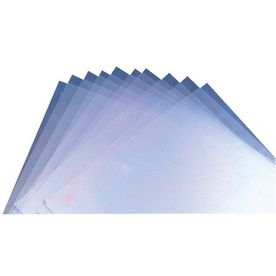 Grafix Plastic Light-Weight Sheet for Monoprinting, 6 X 9 X 0.02 in, Transparent, pk of 10