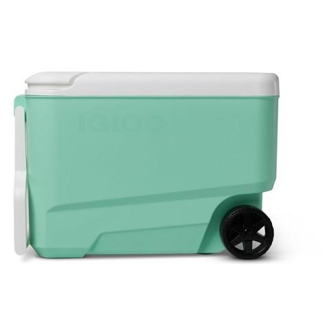 Igloo Wheelie Cool 38qt Portable Cooler - Mint - image 1 of 4