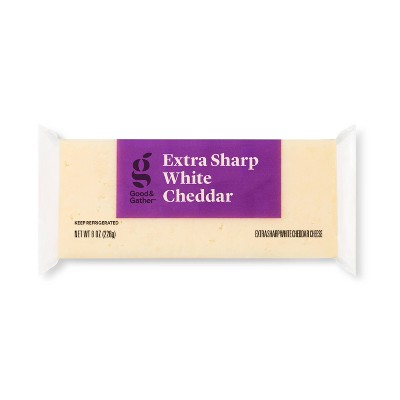 Extra Sharp White Cheddar Cheese - 8oz - Good & Gather™