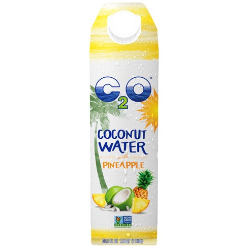 C2O Pineapple Coconut Water - 33.8 fl oz Carton - image 1 of 2