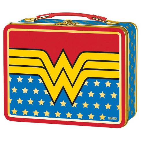 Thermos Metal Lunch Box - Wonder Woman (Red) - image 1 of 1