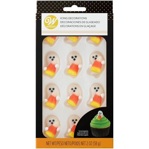 Wilton Ghost Candy Corn Royal Icing Dec - 1.69oz - image 1 of 3