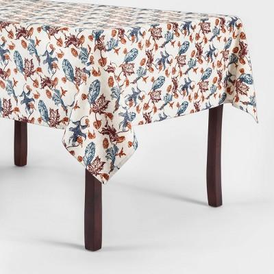 84 x60'' Leaf Tablecloth - Threshold™