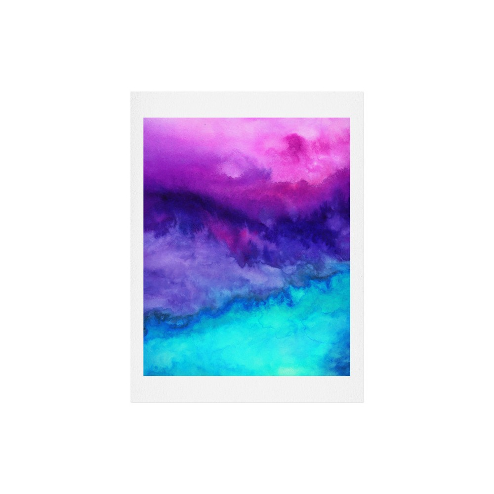 Jacqueline Maldonado The Sound Art Print 8 x 10 - Deny Designs, Purple