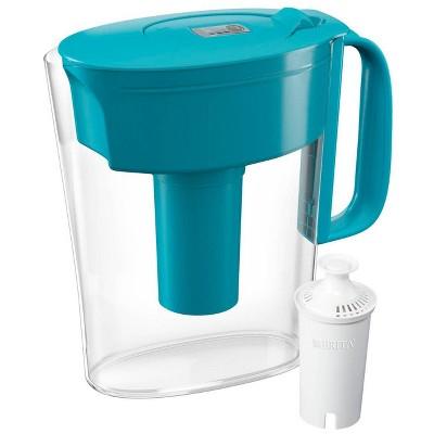 Brita Water Filter 5-Cup Metro Water Pitcher Dispenser with Standard Water Filter
