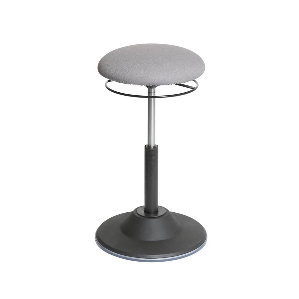 Image of Airlift Adjustable Ergonomic Active Balance Non - Slip Desk Stool Gray - Seville Classics