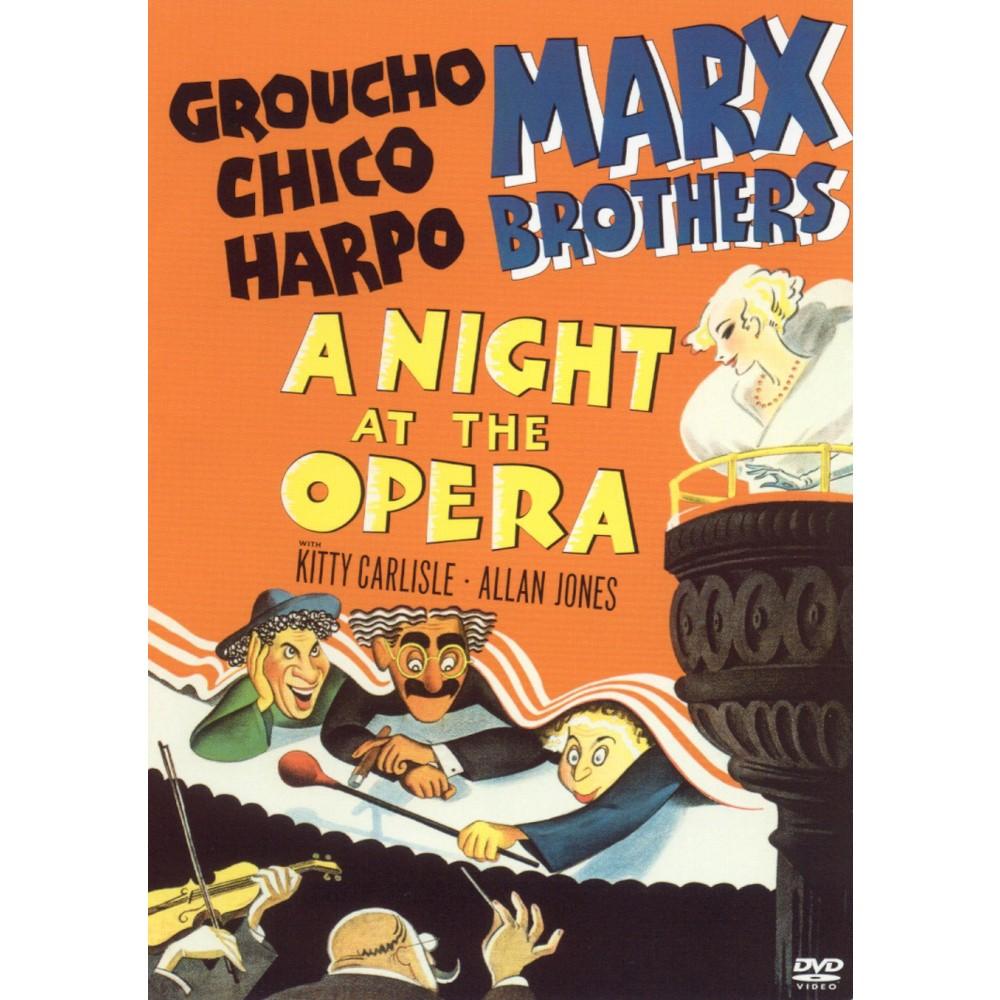 A Night At The Opera Dvd