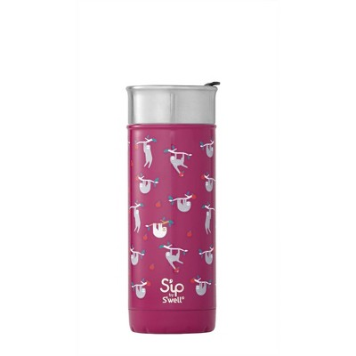 S'ip By S'well 16oz Stainless Steel Just Hanging Around Travel Mug Purple by S'ip By S'well