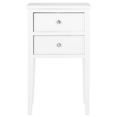 Toby End Table White - Safavieh