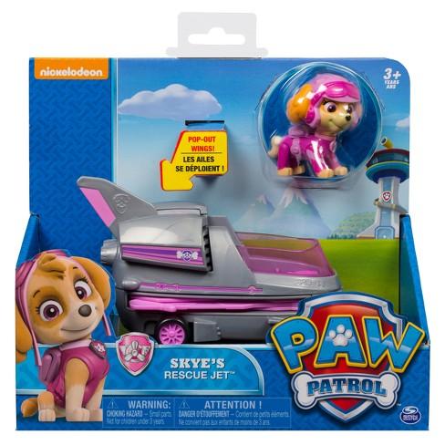 Paw Patrol Skye S Rescue Jet W Extendable Wings Target