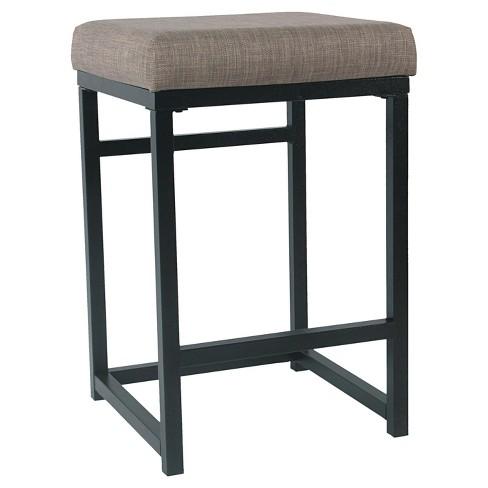 Superb Open Back Metal Counter Stool Homepop Uwap Interior Chair Design Uwaporg