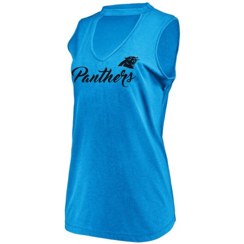49857cf4 NFL Carolina Panthers Women's Constant Effort Sleeveless T-Shirt
