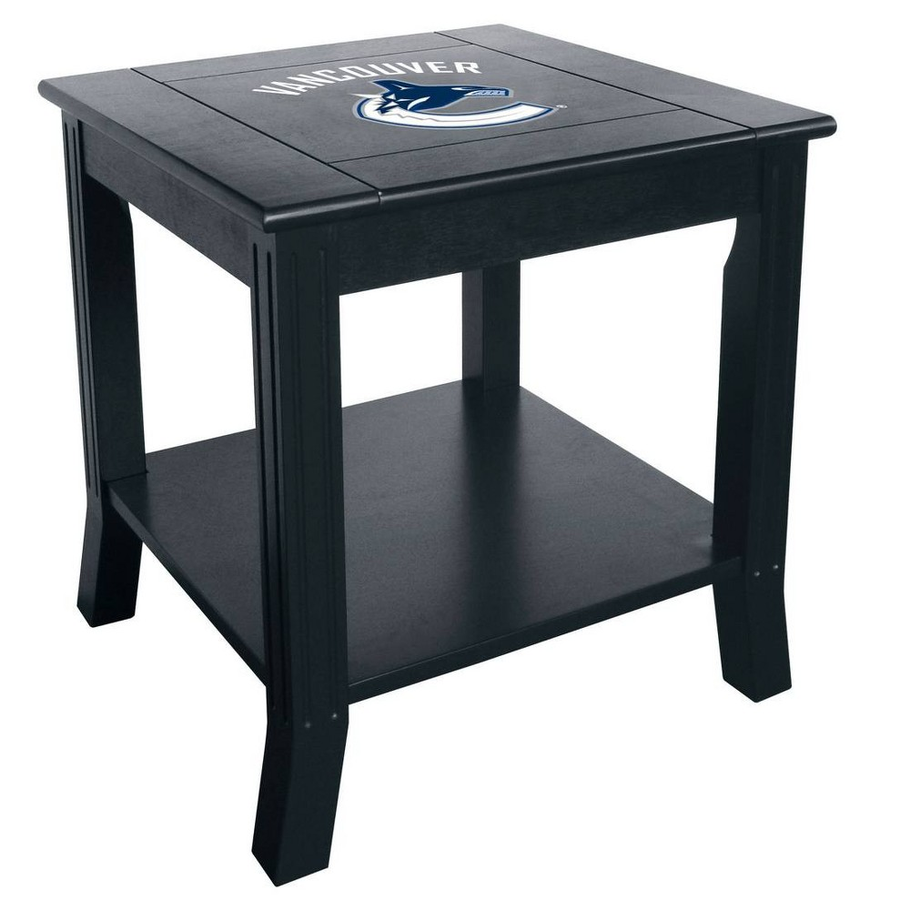 NHL Vancouver Canucks Side Table