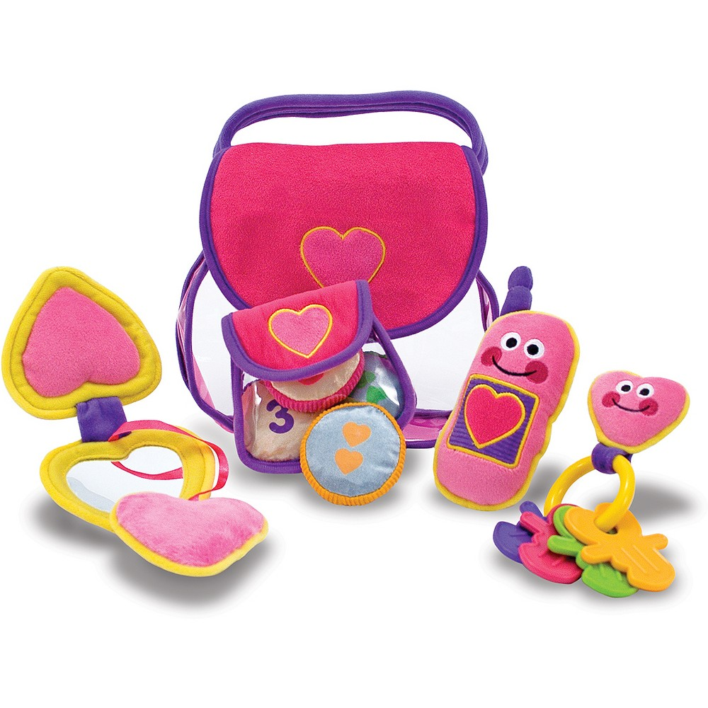 Melissa & Doug First Play Pretty Purse Fill and Spill