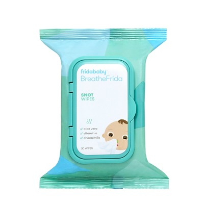 BreatheFrida the Booger Wiper Nose Wipes - Aloe - 30ct