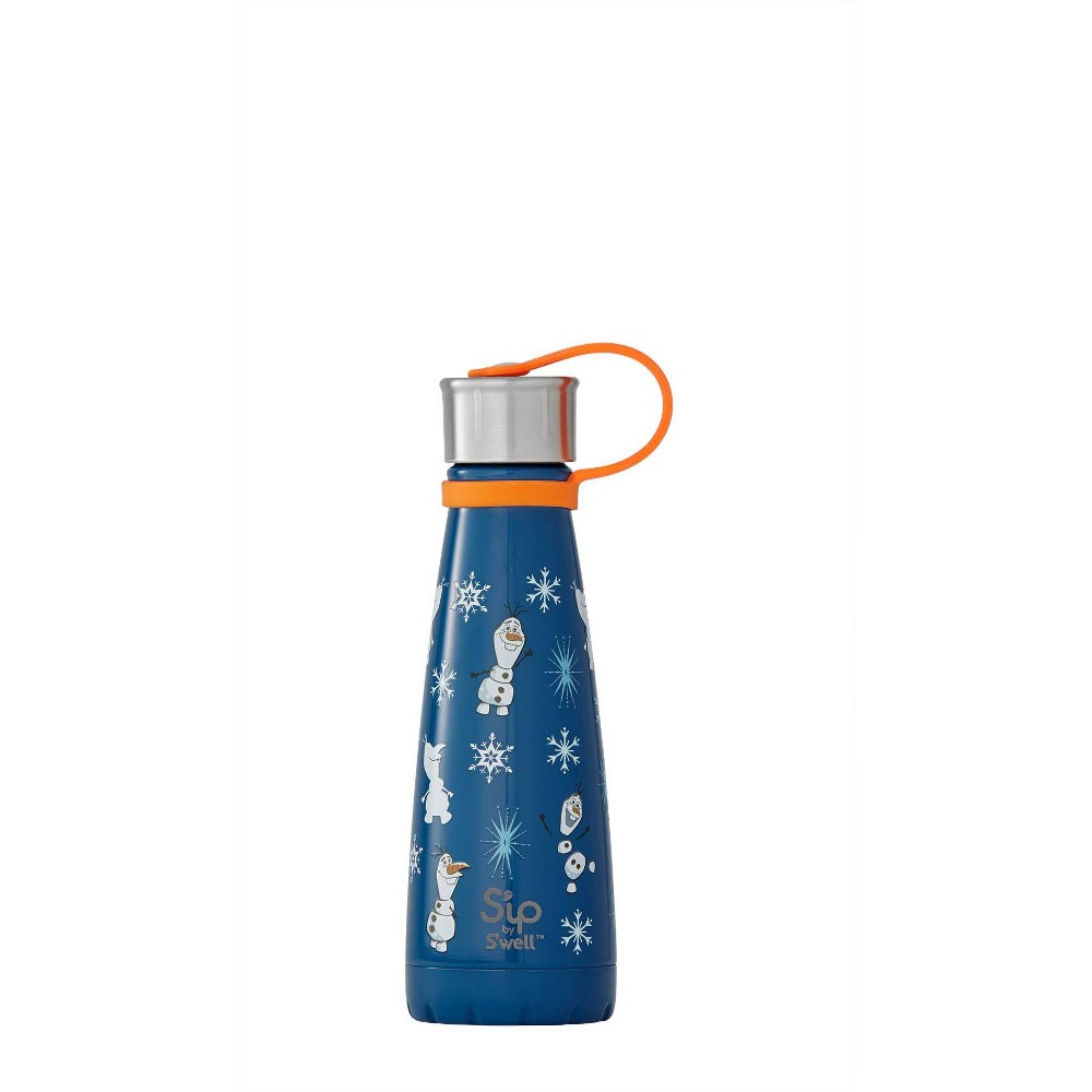 Image of S'ip by S'well x Disney's Frozen 2 Vacuum Insulated Stainless Steel Water Bottle 10oz - Olaf Trusty Sidekick