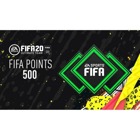 FIFA 20 Ultimate Team: 500 FIFA Points - Nintendo Switch (Digital) - image 1 of 1