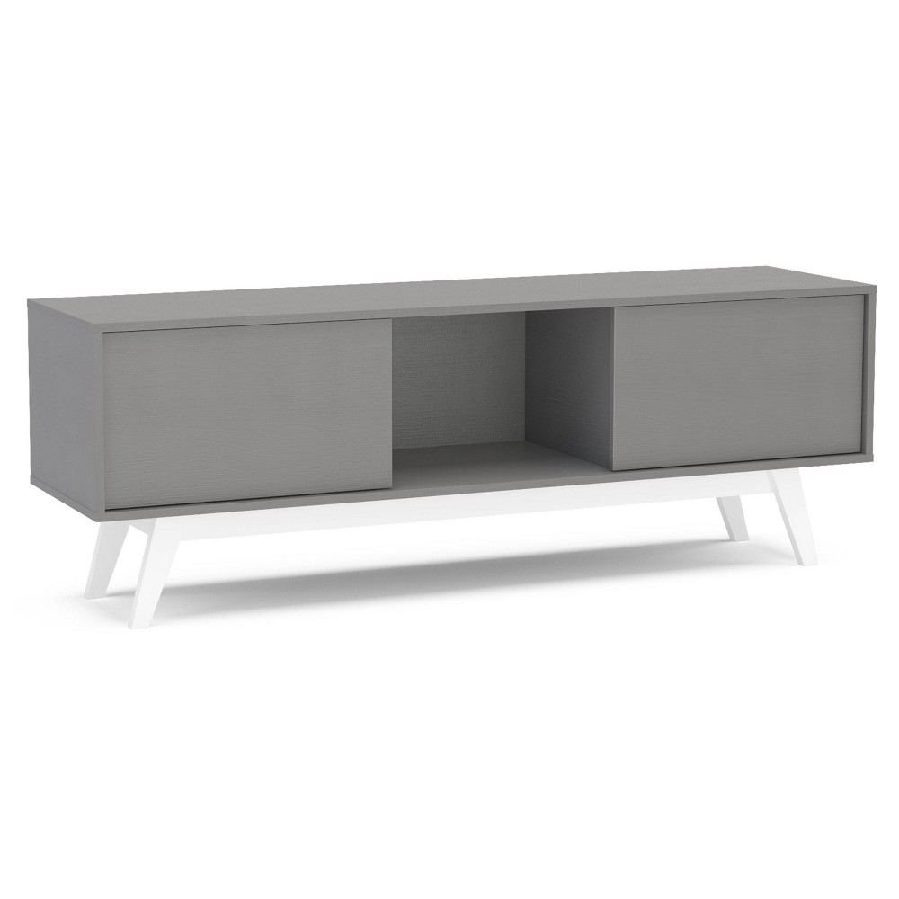 "Image of ""60"""" Burlington TV Stand Gray - Chique"""